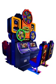 Aristocrat will launch Puerto Rico's first wide area progressive on the exciting Batman Classic TV Series Slot Game Powered by Wonder Wheels product on November 25. A total of 88 games will be placed in and linked across all 22 casinos in Puerto Rico. The video slot game's $250,000 start-up jackpot is the largest in Puerto Rico.