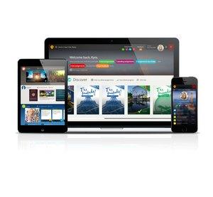 Passport language learning environment by EMC Publishing