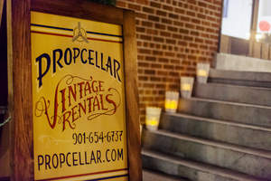 Propcellar warehouse entrance at 2585 Summer Ave. www.propcellar.com