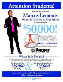 Marcus Lemonis of The Profit's Campus Town Turnaround Program