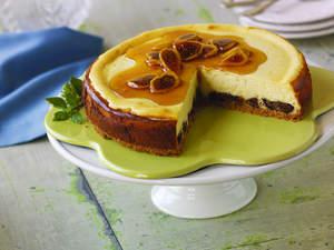 Fig, Lemon and Honey Cheesecake