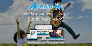 Apollo-M: Everything you need to learn to play the music you love.