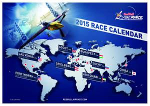 2015 Red Bull Air Race World Championship Calendar