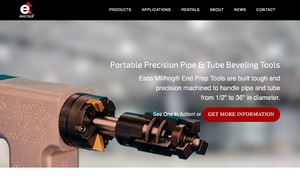 ESCO Portable Precision Pipe & Tube Beveling Tools Website