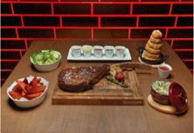 Delicacies at Baku Steak Restaurant