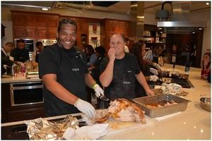 holiday, turkey, holiday cheer, irvine, foster youth, foster care, workshop, Eddie Nash, cooking,