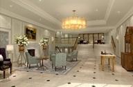 Lobby of Luxury Hotel London