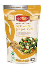 Ground Organic Sunflower & Pumpkin Seeds