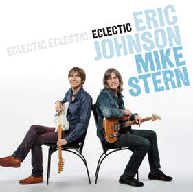 Photo of Eric Johnson, Mike Stern