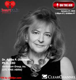 Herborium Group, Inc. Dr. Agnes Olszewski 1800pr The Traders Network Show