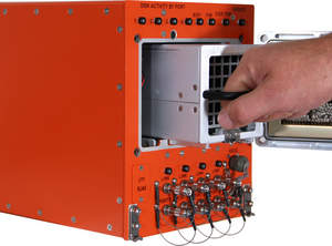 RR1P - Rugged ATR RAID Disk Array with 24 SSDs Stores 19.2 TB in Removable Canister for Mobile Apps