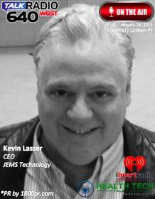 JEMS Technology, Kevin Lasser, Health Tech Talk Live, Ben Chodor, 1800pr