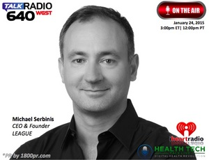HealthTech Talk Live, Health Tech Talk Live, League, Michael Serbinis, 1800pr