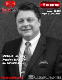 Michael Hanberry, BTJ Consulting LLC, Clear Channel Interview, 1800pr