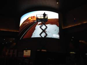 JCM Global finishes installation of North America's largest curved video wall at Tachi Palace Hotel & Casino in Lemoore, Calif.