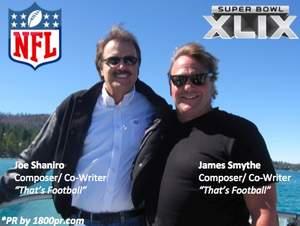 James Smythe, Joe Sharino, That's Football, Football, Super Bowl XLIX, NFL
