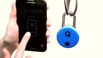 SafeTech Products Launches Industry's Most Advanced Smart Electronic Padlock, The Quicklock Padlock
