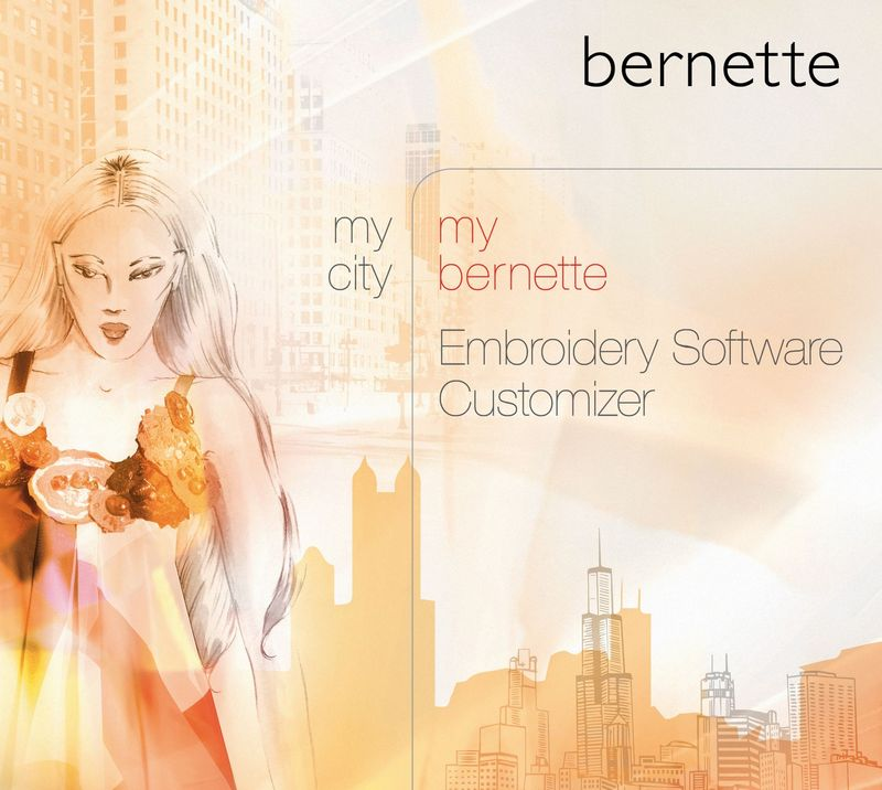 bernette Introduces Embroidery Software Customizer to Create Personalized Designs