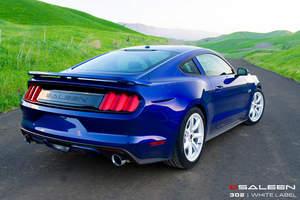 2015 Saleen 302 Mustang - White Label
