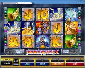 All Jackpots Casino - Thunderstruck online slot