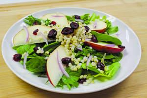 Pearled Sorghum Tangy Pear Salad