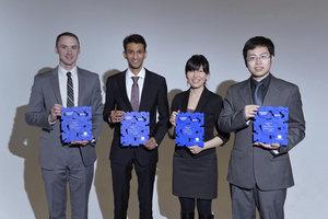 The winners of the Quadrant Award 2015