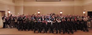 SavATree Builds Wheelchairs for Seniors