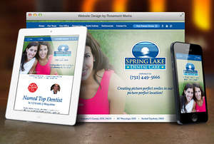 Responsive Website Launched for New Jersey Dentist