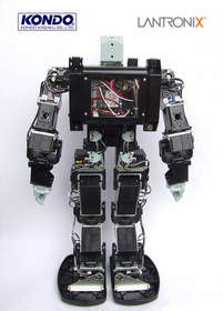 Lantronix PremierWave-powered Robot