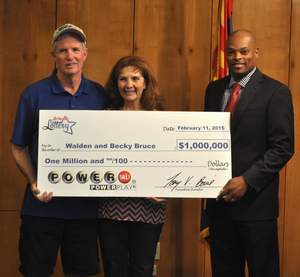 Buckeye couple claim the second $1 million second place Powerball® prize