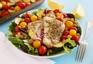 Greek Lemon Baked Fish