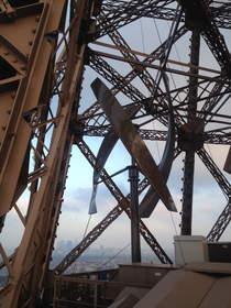 Eiffel Tower installs UGE wind turbines.