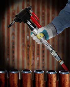 ESCO Ground MILLHOG(R) tube beveling tool