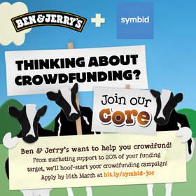 Symbid investment crowdfunding Ben & Jerry's