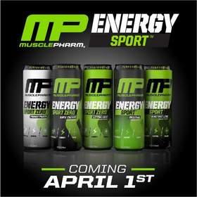 MusclePharm Energy Sport and Energy Sport Zero