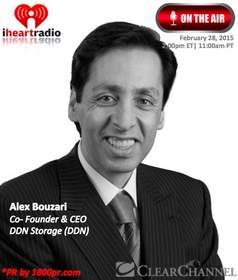 DDN Storage, Alex Bouzari, Big Data, Cloud Storage, Clear Channel Interview