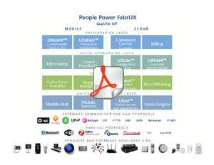 People Power FabrUX: SaaS for IoT