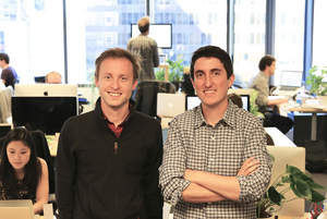 Swiftype founders Matt Riley and Quin Hoxie