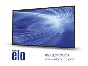 Elo, digital signage, interactive display