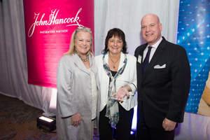 Kathy Kiely, President, The Ad Club; Linda Driscoll, Founder & CEO, Dream Big! and 2015 The Ad Club ADmiration Award Recipient; and James Bacharach, VP, Brand, Marketing & Creative Services, John Hancock.