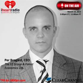 Per Brogard,The FE Group & Forest Economics Limited, Clear Channel Interview, 1800pr