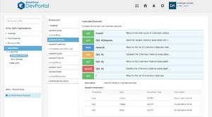 Discover APIs in your organization via DevPortal.