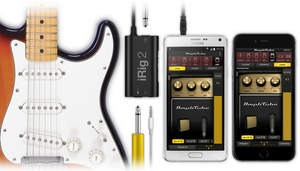 iRig 2 guitar and bass interface from IK Multimedia
