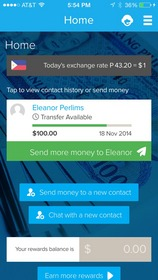 Remitly is a mobile payments service, supported on Android, iOS and online, that enables consumers to conveniently make person-to-person international money transfers.