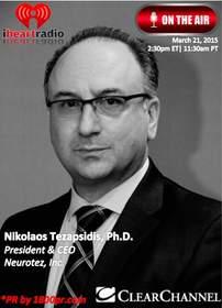 Neurotez, Nikolaos Tezapsidis, Clear Channel Interview, 1800pr, The Trader's Network Show