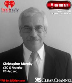 Vir-Sec, Clear Channel Interview, Christopher Murphy, The Traders Network, 1800pr