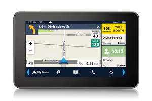 Magellan's New RoadMate RC9485T-LMB GPS for Professional Truck Drivers at Mid-America Trucking Show 2015
