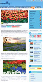 Cheapflights.ca Top 10 Places Spring is in Bloom