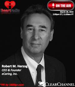 eCaring, Inc., Robert M. Herzog, CEO, The Trader's Network Show, Clear Channel Interview, 1800pr