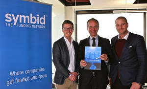 Henk Kamp visits Symbid - The Funding Network